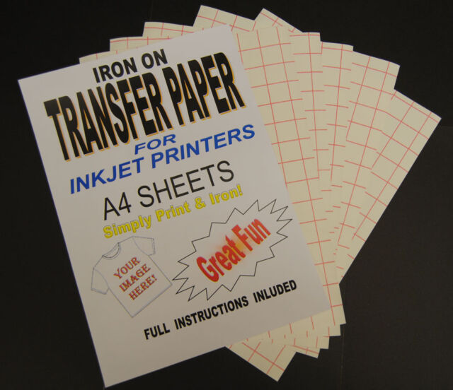 Paper Iron Printable Transfer