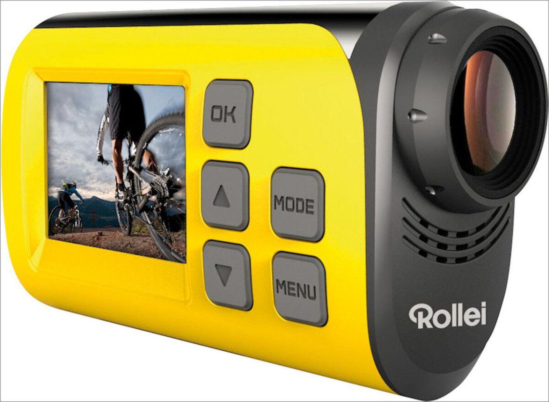 Rollei Actioncam S-30 WiFi (Action-, Sport- und Helmkamera mit Full HD gelb