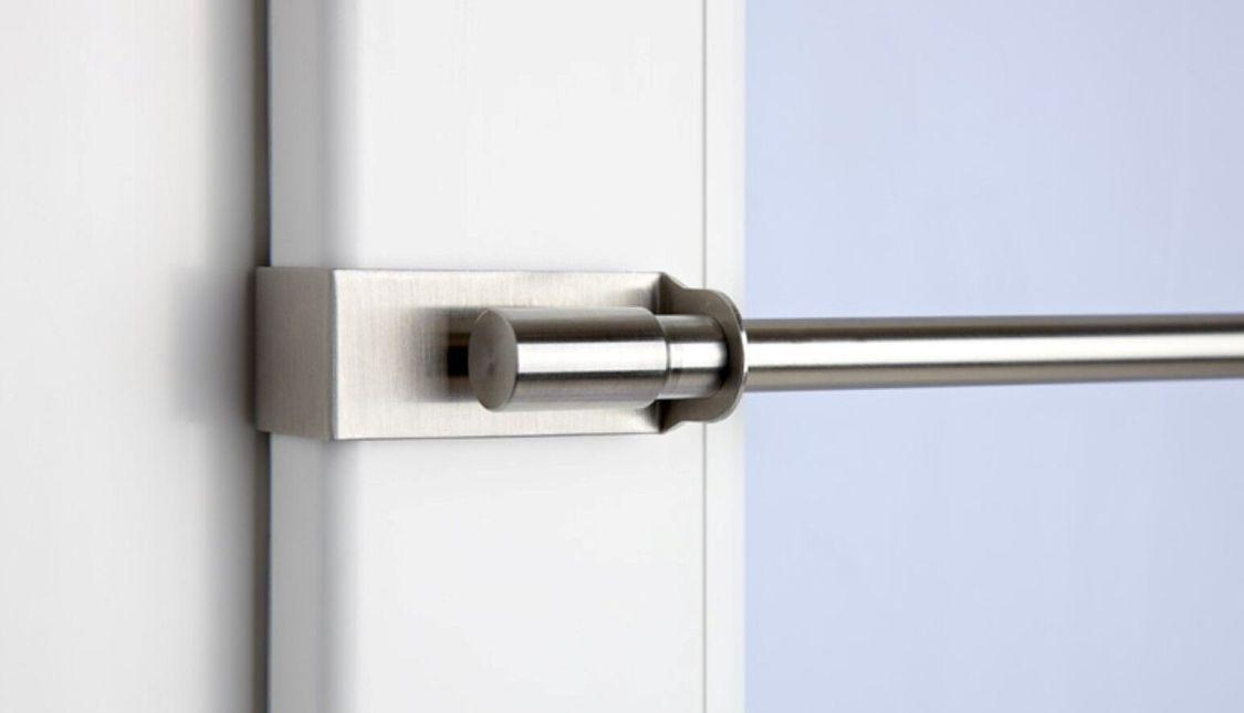CG Klemmstange easy fix Scheibenstange Gardinenstange ohne bohren Klemmfix