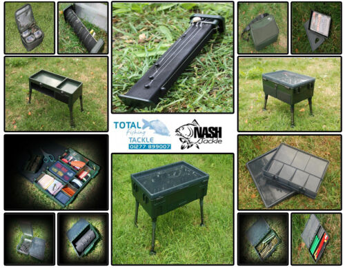 Nash-Tackle-NEW-Carp-Fishing-Box-Logic-Complete-TT-Range