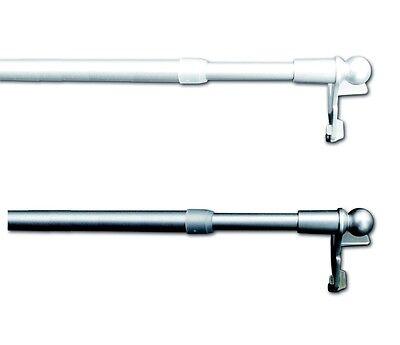 Klemmstange easy ausziehbar Scheibenstange Vitrage Gardinenstange  ohne bohren