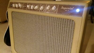Tone King Imperial MKII Boutique Guitar Combo Amplifier Cream Amp MK II 2 Reverb