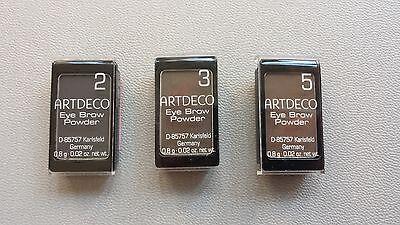 Artdeco Augenbrauenpuder Nr,2,3,5    neu 0,8g
