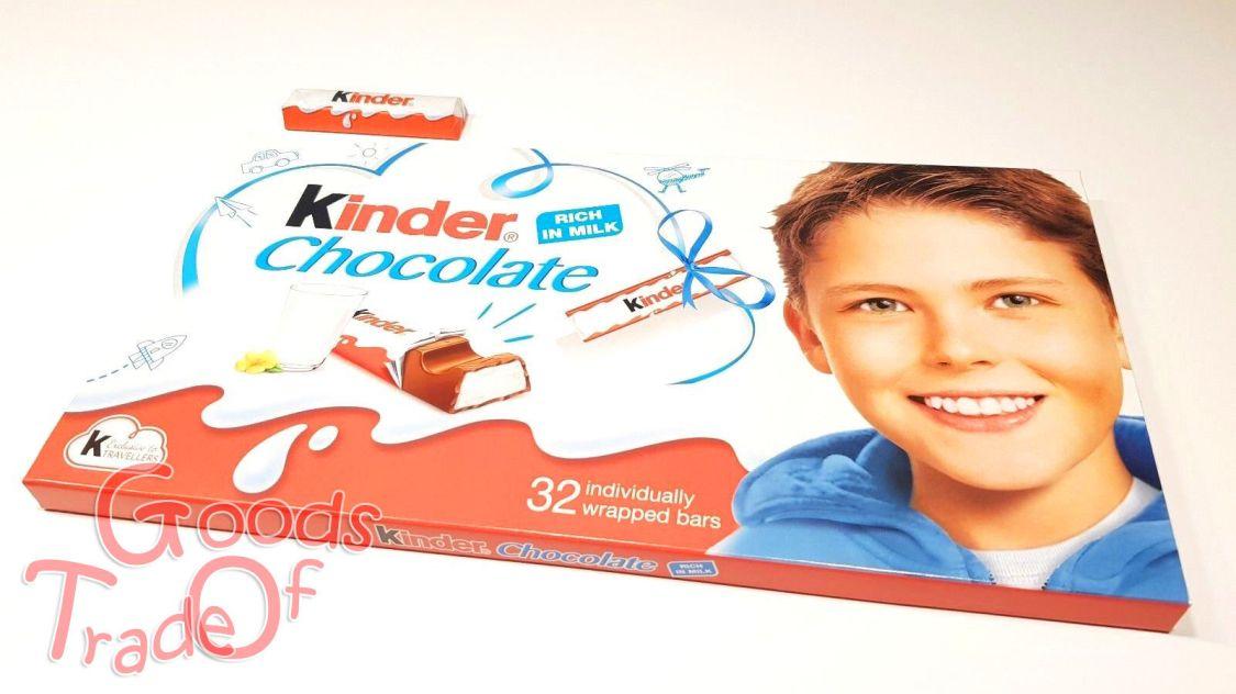 FERRERO / MEGA XXL Kinderschokolade / Limitiert / 32 Riegel / 400g / NEU & OVP