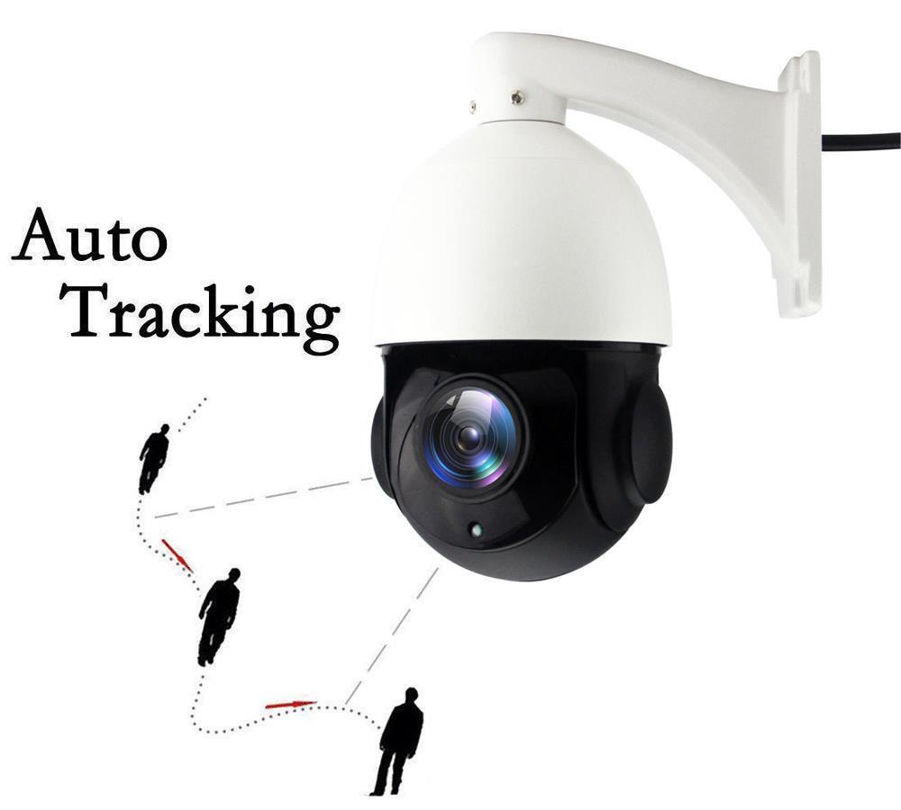 Auto tracking Kamera PTZ IP IR 20x Zoom 4.0MP 1520P Outdoor Sicherheit Nacht