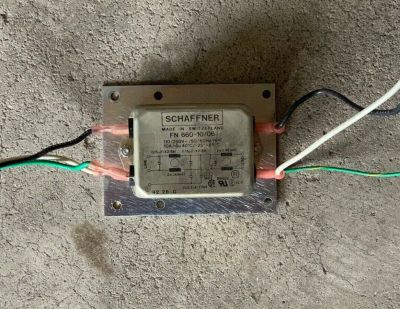 Schaffner 660-10/06 10 AMP Power Line Filter Module Simplex 4100 Control Panel
