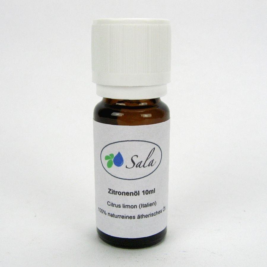 (41,90/100ml) Sala Zitronenöl naturreines ätherisches Zitrone Citrone Öl 10 ml