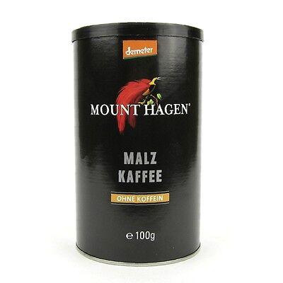 (3,69/100g) Mount Hagen Malzkaffee ohne koffein bio vegan 100 g