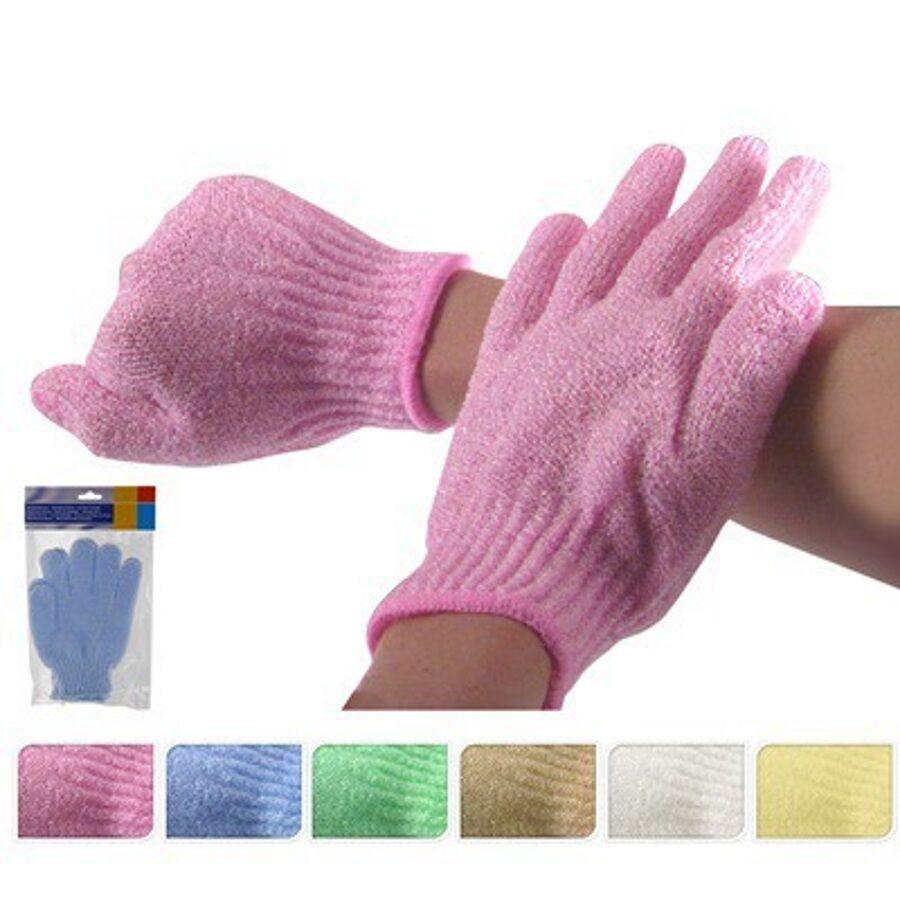 4 x Massage Handschuh Duschhandschuh Peelinghandschuh Massagehandschuh Peeling