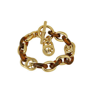Michael Kors Heritage Link Tortoise Toggle Bracelet MKJ1675710