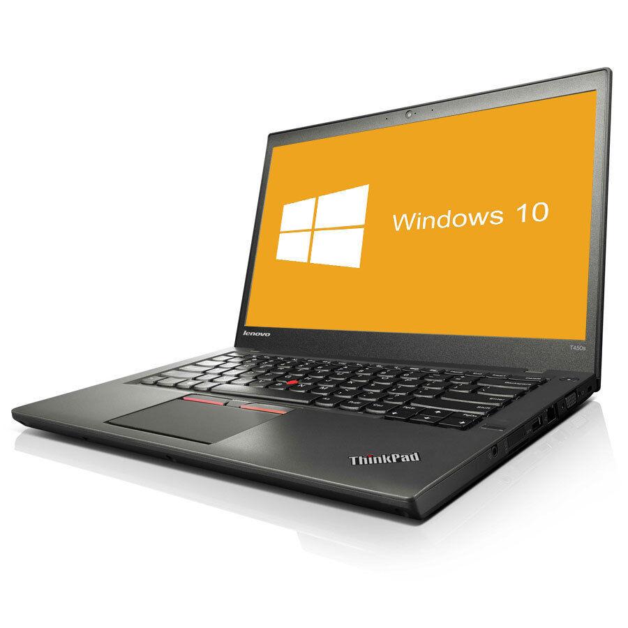 Lenovo ThinkPad T450s Notebook Intel Core i5-5300U 2x 2,3GHz 8GB RAM 240GB SSD