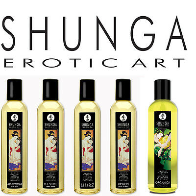 SHUNGA erotisch Körper Massageöl LUXUS Massageöl schnell dezent