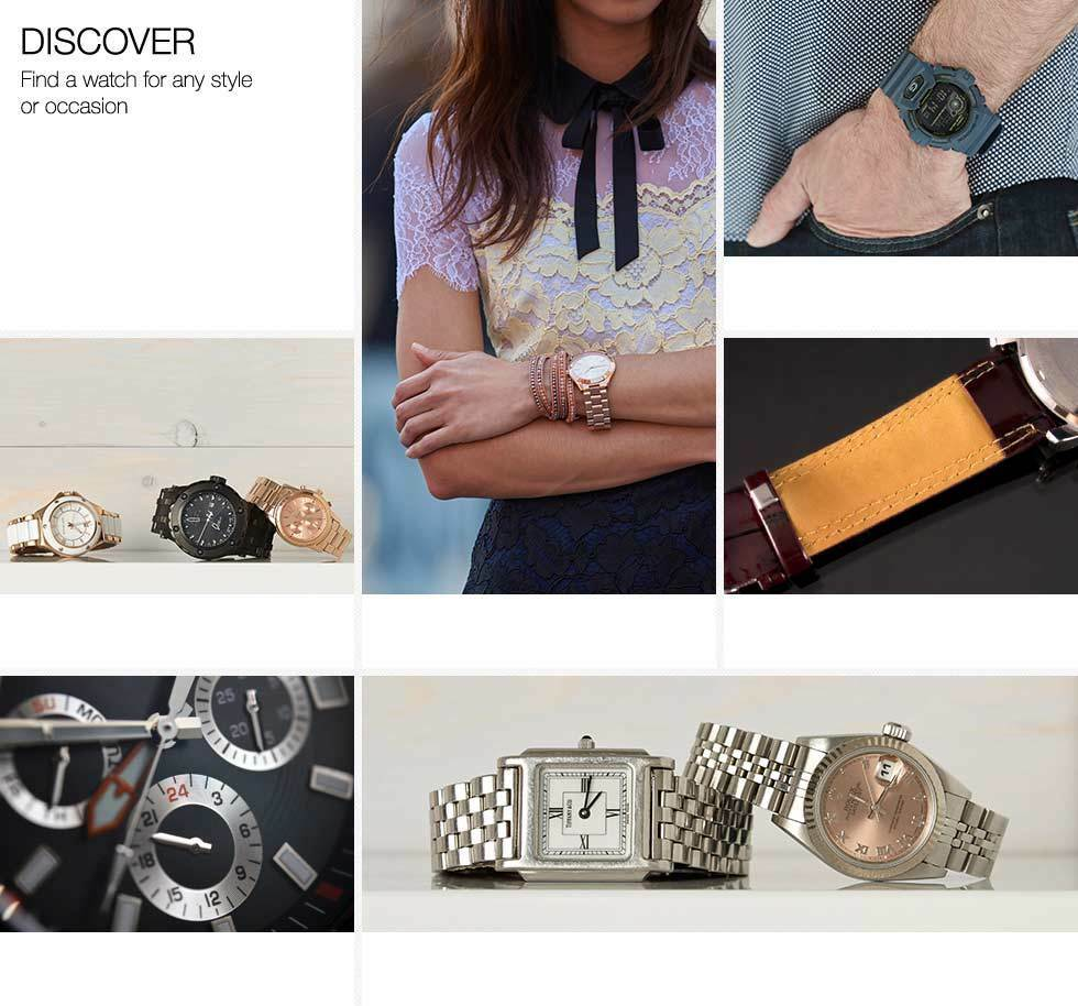 Discover. Find a watch for any style or occasion