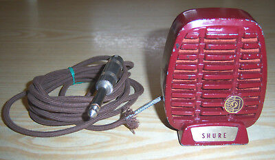 Shure 710A Series Crystal Microphone - Untested Antique