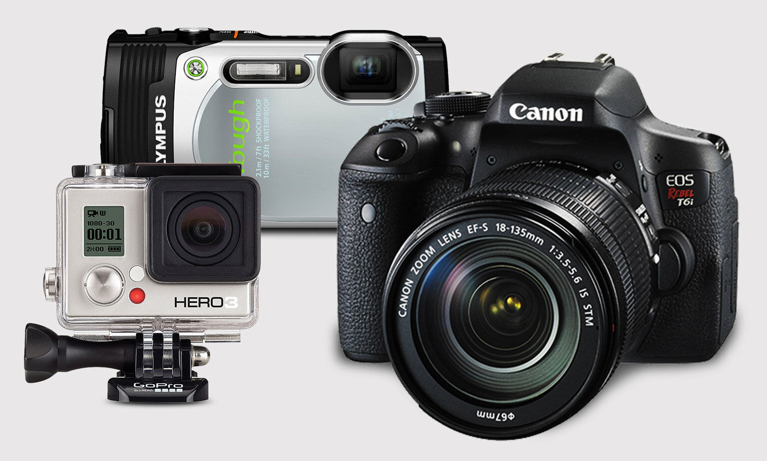 Up to 40% Off on DSLRs, Compact Cameras and More