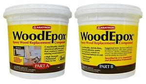 Abatron Woodepox ® Epoxy Wood Replacement Compound 2 pints Kit | eBay