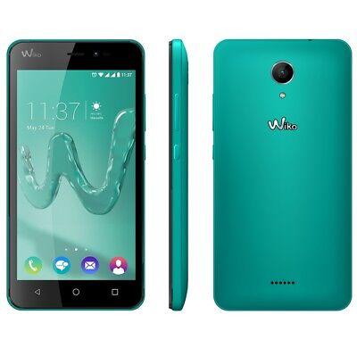 Wiko Freddy bleen, Android, 5 Zoll Smartphone 4G, türkis, grün, 8GB