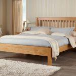 Frigg Solid Oak Bed Frame Wooden Chunky Design Modern Slatted Various Sizes Ebay