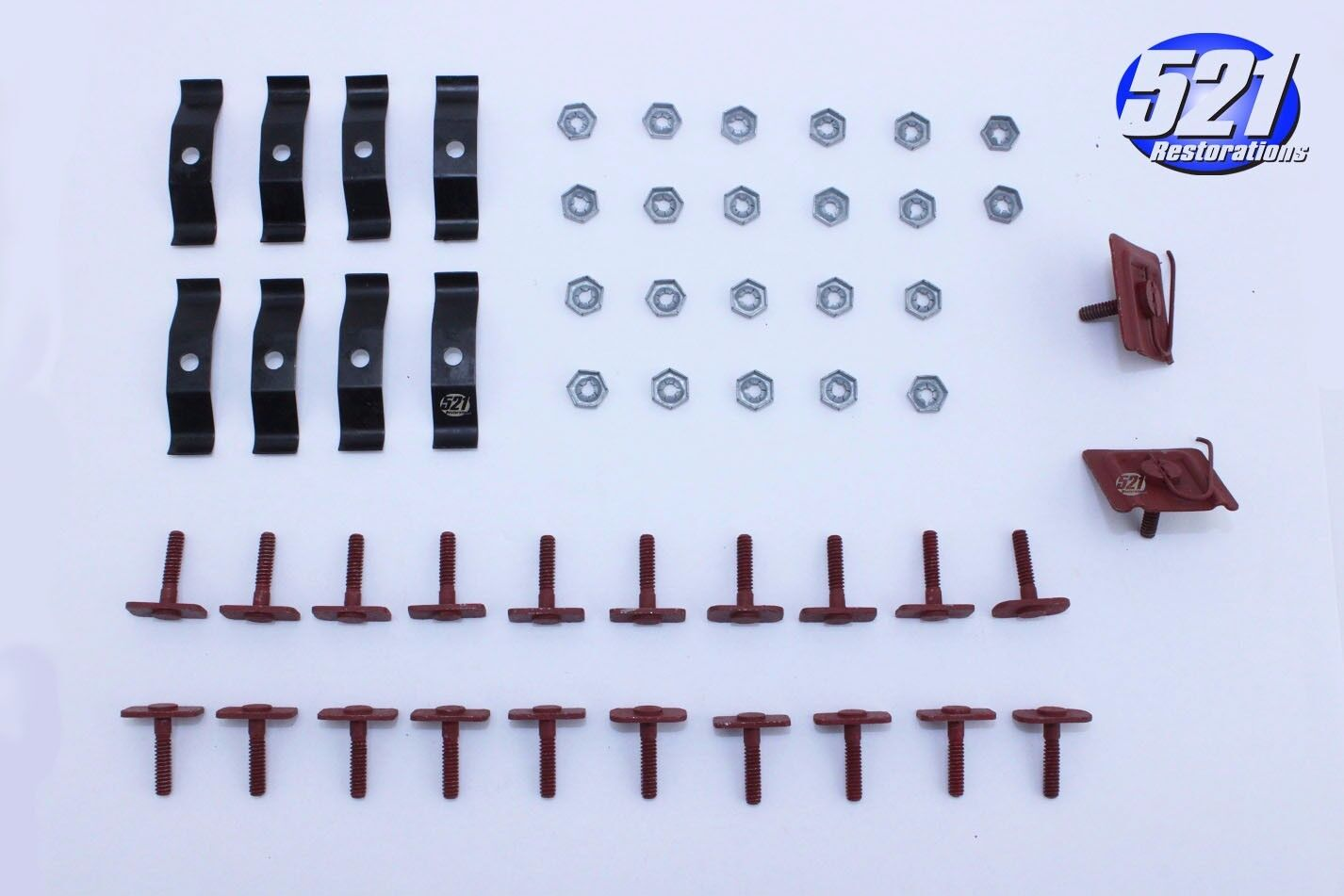 Mopar 69 1969 Dodge Charger Grill Trim Mounting Clip Clips