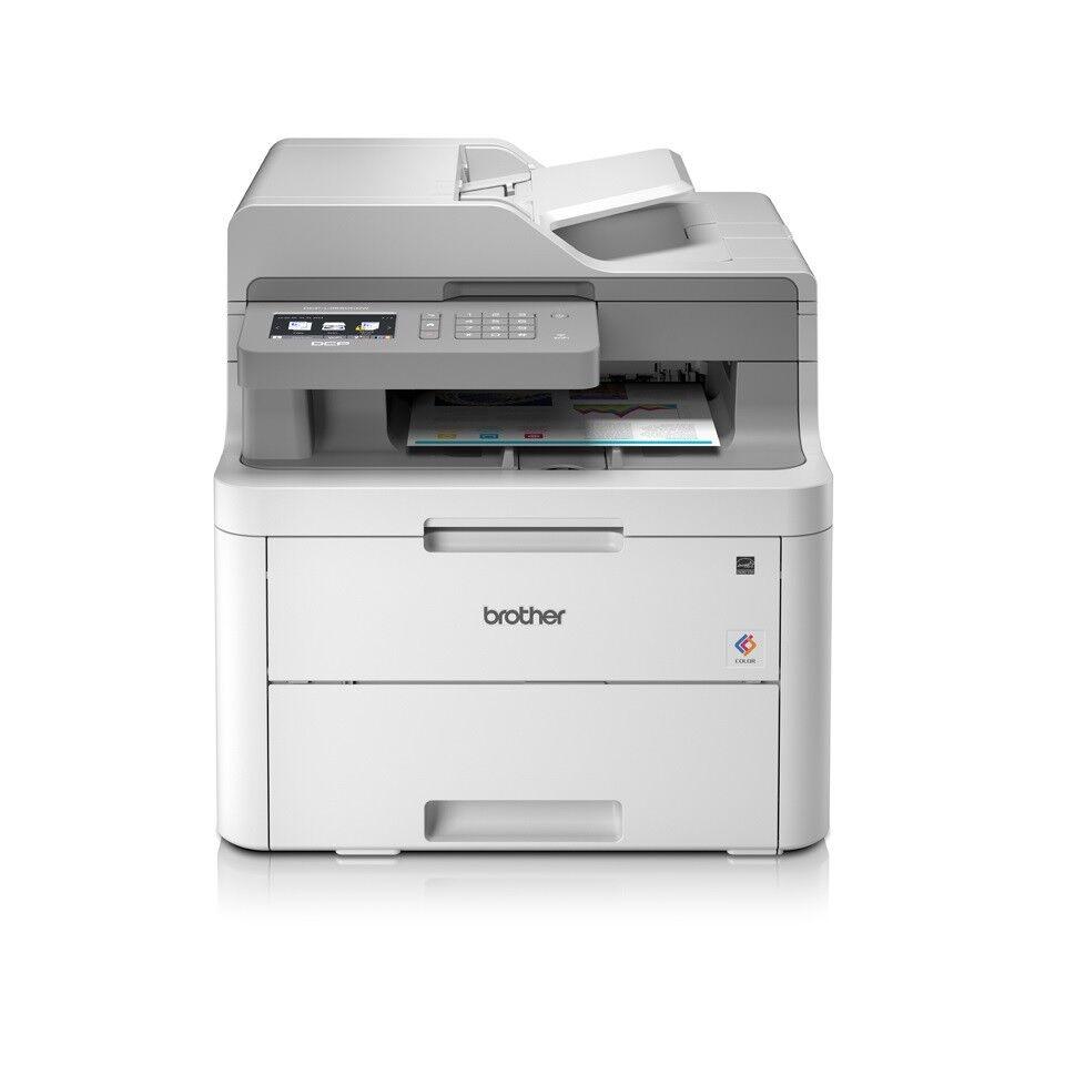 Brother DCP-L3550CDW Farblaser-Multifunktionsgerät A4, 3in1, Drucker, Kopierer
