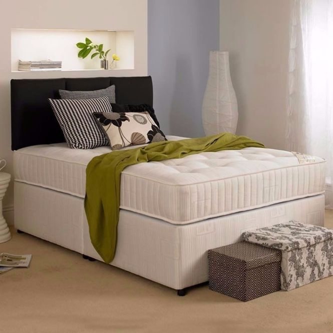 1 Year Guarantee New Double Kingsize Divan Bed With Royal 2000