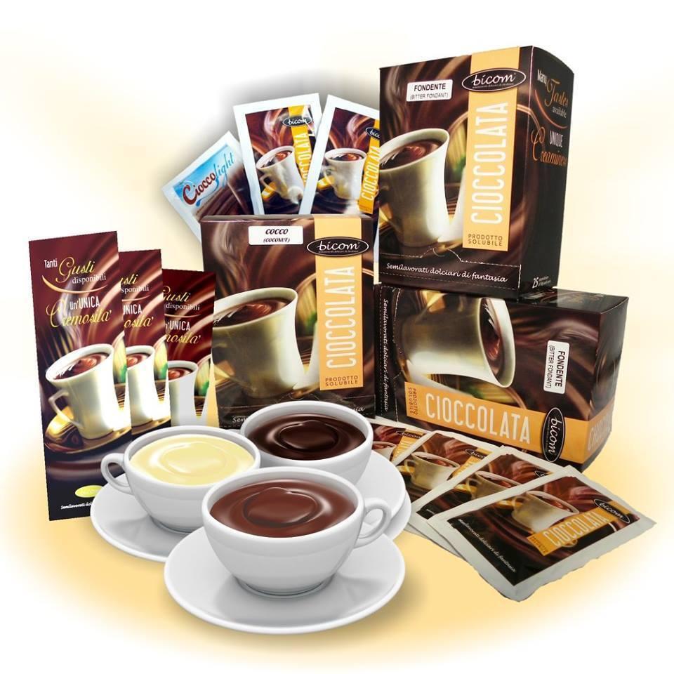 Orginal Italienische Trinkschokolade von Bicom (  Classic 2 Tassenportionen)