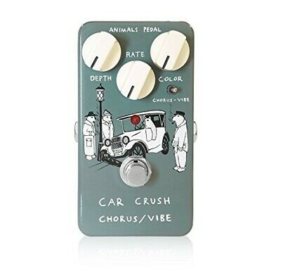 Animals Pedal Car Crush Chorus Vibe Guitar Effect Pedal