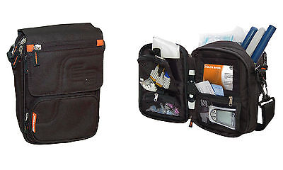 Tee-uu Elite Bags FIT'S Diabetikertasche Tasche für Diabetiker schwarz Diabetes