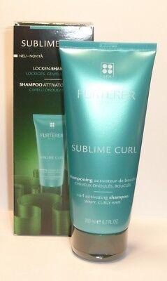 René Furterer Sublime Curl - Locken Shampoo Gelocktes, welliges Haar 200ml