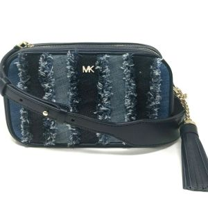 Michael Kors Crossbodies Denim Small Camera Bag Crossbody Handbag Purse