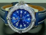 BREITLING MEN'S COLT SUPEROCEAN A17360 AUTOMATIC DIAMOND WATCH