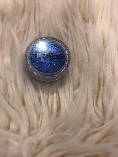 Glitzer Make Up Nail Art Blau Metallic Augen Eyeshadow Lippen Maniküre Glitter