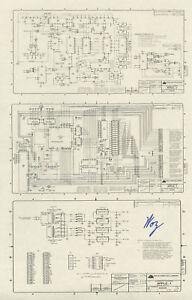 Steve Wozniak SIGNED Apple 1 Schematic Diagram *RARE*   eBay