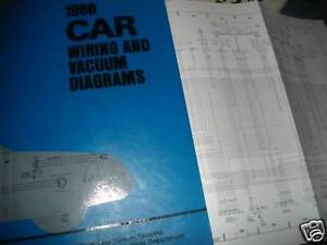 1988 FORD FESTIVA WIRING VACUUM DIAGRAMS MANUAL SET | eBay