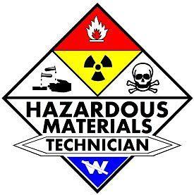 Hazardous Materials Technician decal sticker hazmat | eBay
