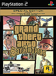 Grand Theft Auto San Andreas Special Edition Sony