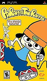 Parappa the Rapper PSP game cover box art