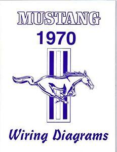 1970 MUSTANGMACH 1 WIRING DIAGRAM MANUAL | eBay