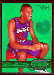 TRACY-McGRADY-1997-GREEN-PRECIOUS-METAL-GEMS-D-1-10-JERSEY-NUMBER-PMG