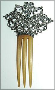 antique circa 1900 sterling silver hair b ebay