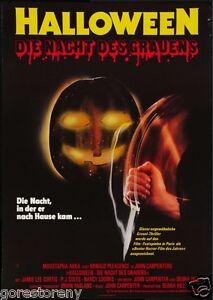 details about halloween movie poster horror michael myers john carpenter rare