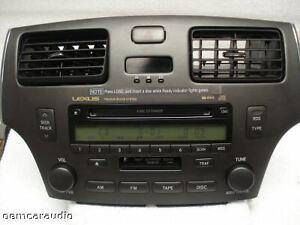 03 04 LEXUS ES330 ES300 Radio 6 Disc Changer CD Player