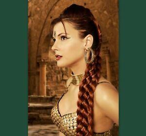 Renaissance 7 Strand Braid Plait Long Hair Extension Adult