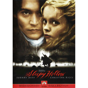 Sleepy Hollow (DVD, 2000)