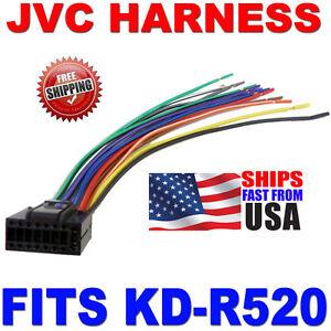 2010 JVC WIRE HARNESS 16 PIN HARNESS KDR520 KDR520   eBay