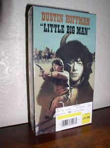 Little Big Man starring Dustin Hoffman (VHS,1996,NEW ...