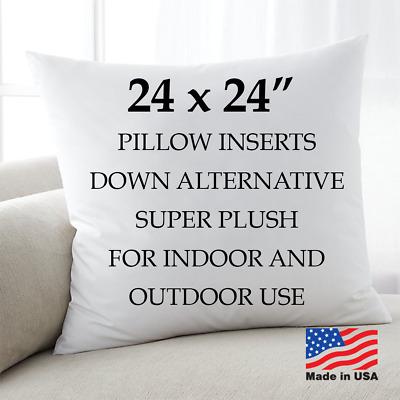 24x24 discount pillow factory euro pillows form insert throw pillow stuffing usa ebay