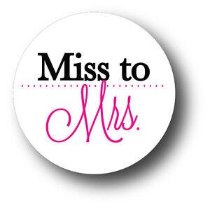 Details About 30 Miss To Mrs Wedding Bridal Shower Invitation Envelope White Sticker Seals