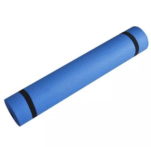 3mm 6mm epais non derapant exercice yoga tapis gym pilates physio mousse camping sports vacances tapis d exercice