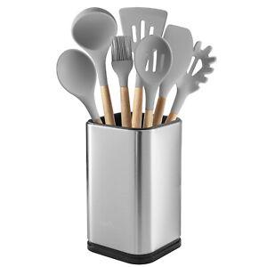 Stainless Steel Kitchen Utensil Holder Kitchen Caddy Utensil Organizer Modern Ebay